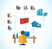 74239121 - Software Engineer,analyst or admin working with system network - Fotolia